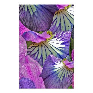 Petallurgy Iris Petal Fantasy Customized Stationery