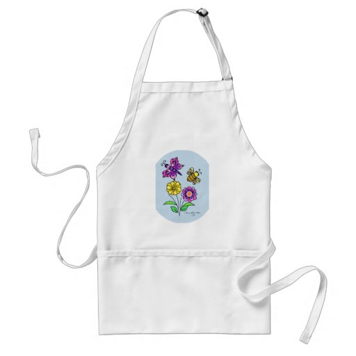 Petals and Wings 1 Aprons