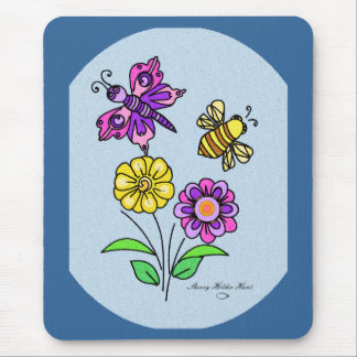 Petals and Wings 1 Mouse Pad