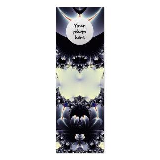 Petals Custom Bookmark Pack Of Skinny Business Cards
