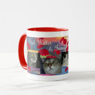 Petals Feather Corduroy and Mercedes Mug
