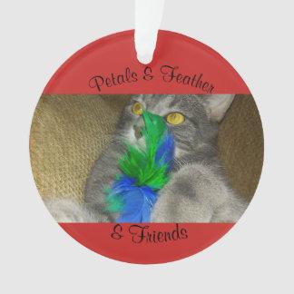 Petals & Feather & Friends ornament
