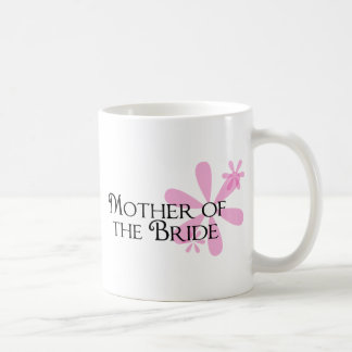 Petals in Pink Mother of the Bride Coffee Mugs