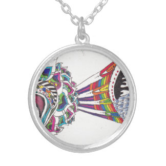 Petals, Rainbows, Colors and Scales Necklace
