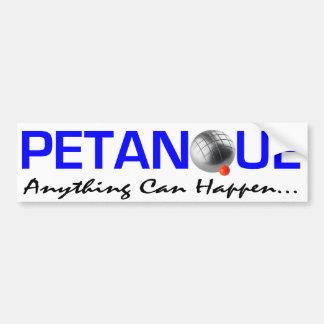 Petanque Bumper Sticker
