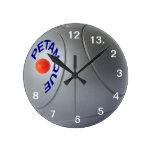 PETANQUE CLOCK HORLOGE MURALE