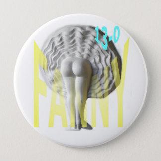 Petanque Fanny 10 Cm Round Badge