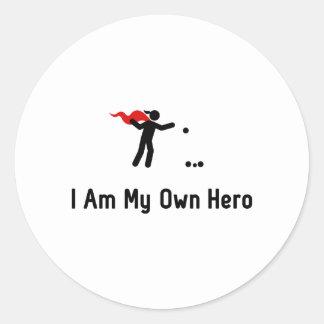 Petanque Hero Round Sticker