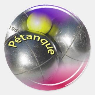 Petanque Sticker