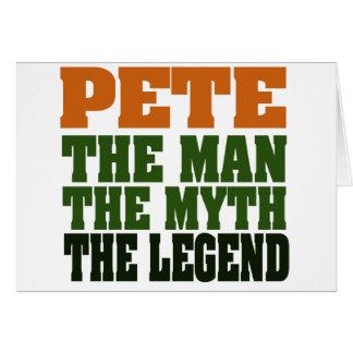 Pete - the Legend Card