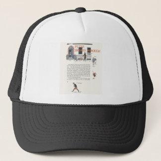 Peter Breaks Through, Peter Pan Vintage Image Trucker Hat