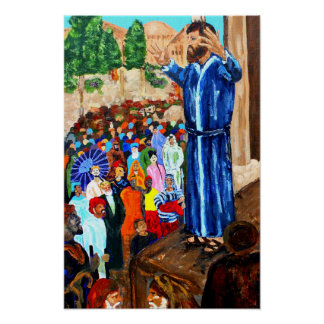 Peter In Jerusalem Poster