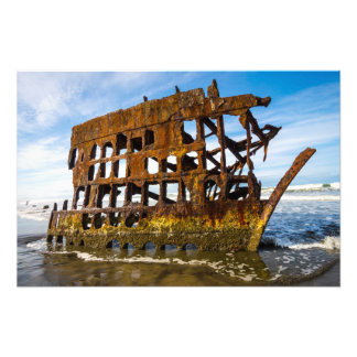 Peter Iredale Shipwreck - Oregon Coast Photo Art