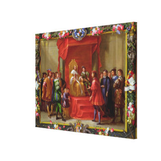 Peter IV, King of Aragon Canvas Print