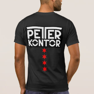 Peter Kontor Chicago Trance Family Stars logo T-Shirt