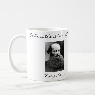 Peter Kropotkin Anarchist Quotes Mug