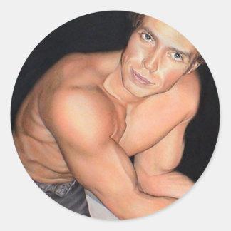 Peter Marr: www.AriesArtist.com Round Sticker