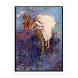 Peter Pan and Wendy by Alice B. Woodward Postcard