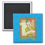 Peter Pan - Frame Fridge Magnet