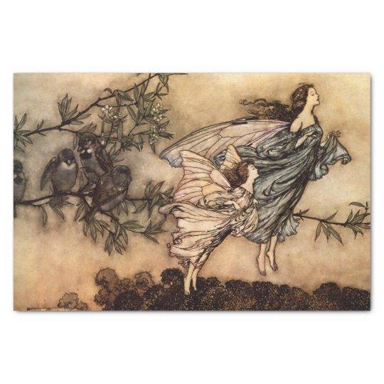 Peter Pan in Kensington Gardens Fairies Kid's Tissue