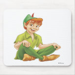 Peter Pan Sitting Down Disney Mousepads