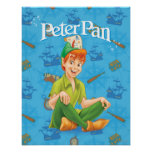 Peter Pan Sitting Down Posters