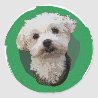 Peter Pan the Dog Sticker