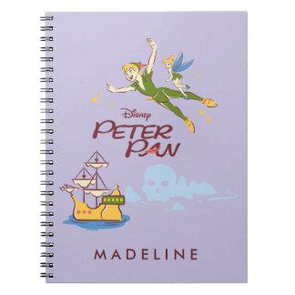 Peter Pan & Tinkerbell Notebook