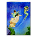 PETER PAN, WENDY, JOHN AND MICHAEL FLY AWAY