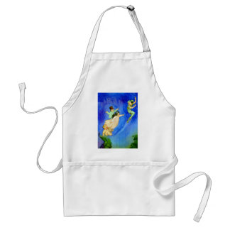 PETER PAN, WENDY, JOHN AND MICHAEL FLY AWAY STANDARD APRON