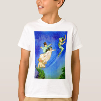 PETER PAN, WENDY, JOHN AND MICHAEL FLY AWAY T-Shirt