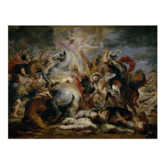 Peter Paul Rubens - The Death of Decius Mus Postcard