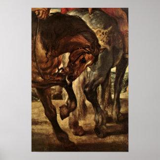 Peter Paul Rubens - The lance Detail Poster