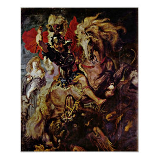 Peter Paul Rubens - The lance Detail Posters