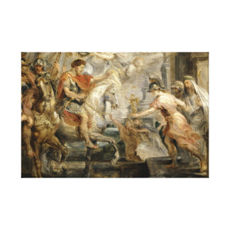 Peter Paul Rubens -Triumphant Entry of Constantine Canvas Print