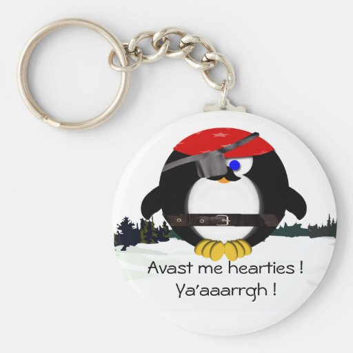 Peter Penguin Matey Key Chains