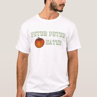 Peter Peter Pumpkin Eater Funny Nursery Rhyme Tee