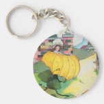 Peter, Peter, pumpkin-eater, Basic Round Button Key Ring