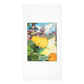 Peter, Peter, pumpkin-eater, Photo Card