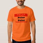 Peter Peter Pumpkin Eater Tee Shirts
