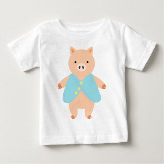 Peter Pig Baby T-Shirt