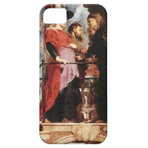 Peter Rubens- Descent from the Cross (left wing) iPhone 5 Covers