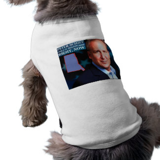 Peter Schiff for Senate Sleeveless Dog Shirt