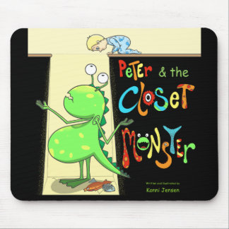 Peter & the Closet Monster, cover Mouse Pad