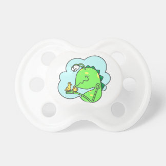 Peter & the Closet Monster, duck kisses Baby Pacifiers