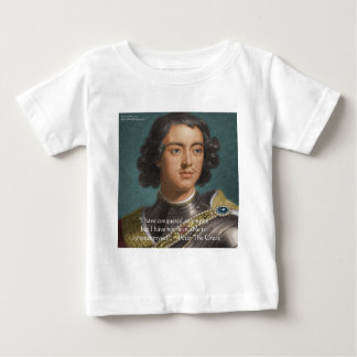"Peter The Great ""Conquer Myself"" Quote Gifts & Tee"