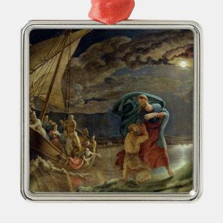 Peter Walks on Water, 1806 Christmas Ornament