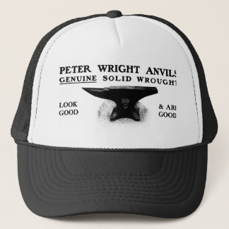 Peter Wright anvil hat