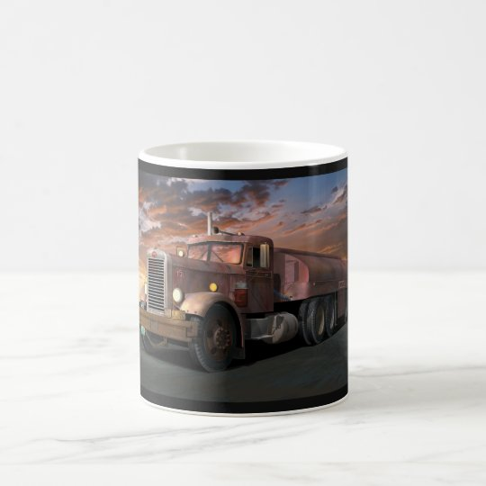 "Peterbilt ""Duel Truck"" Coffee Mug"