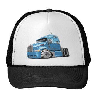 Peterbilt Lt Blue Truck Trucker Hats